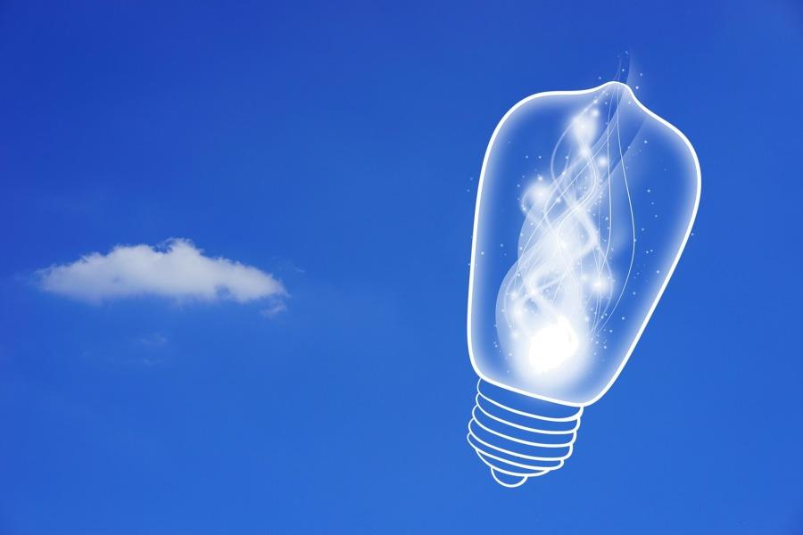 Lightbulb by Alexas_Fotos at Pixabay
